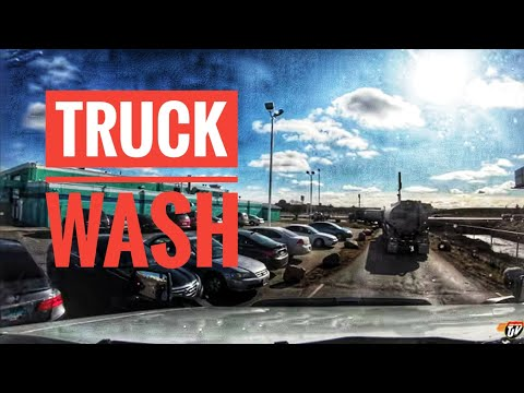My Trucking Life | TRUCK WASH | #1848