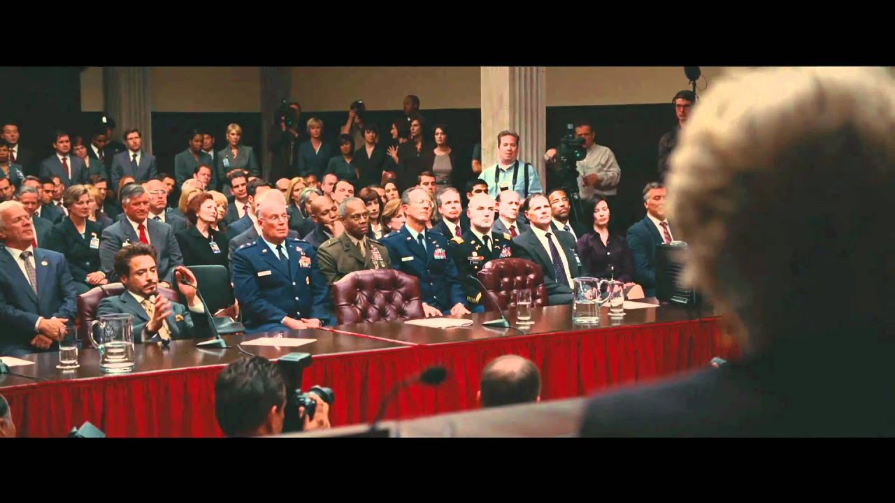 Iron Man 2: Extended scene (In the Court) 1080p