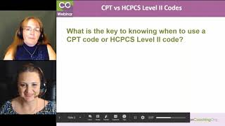 When Do You Use a CPT Code or HCPCS Level II Code?