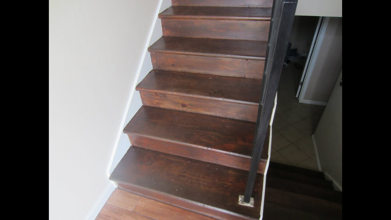 General Finishes Gel Stain  DIY for stairs  YouTube