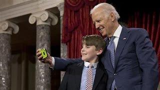 Joe Biden, Portrait of a Schmoozer