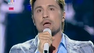 Дима Билан - Часы и Не Молчи - Концерт Муз ТВ 07 06 2015