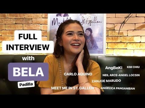 FULL INTERVIEW with Bela Padilla | Meet Me in St. Gallen Blogcon