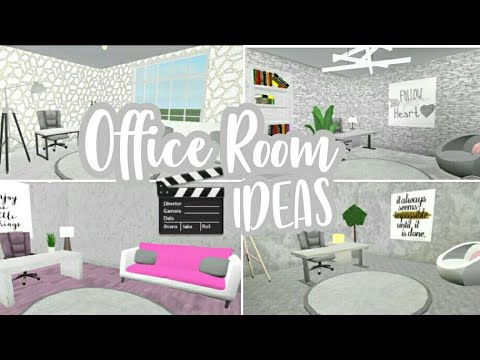 4 Office Room Ideas || Bloxburg ||