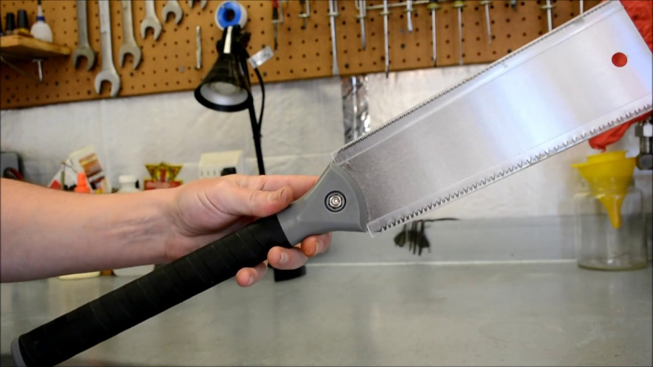 Harbor Freight 10 Japanese Style Pull Saw Review Youtube