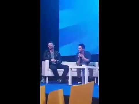 APR 22 | Michael Trevino and Daniel Gillies at Warsaw Comic Con