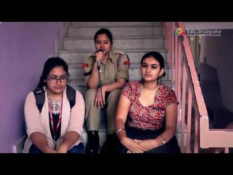 Bala Janaagraha Mount Carmel Volunteers 2016-17