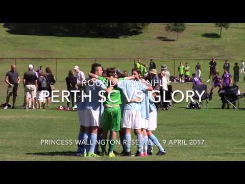 Round 4 WA NPL U16 Perth SC vs Perth Glory 9 April 2017