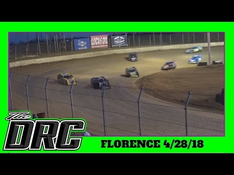 Florence Speedway | 4/28/18 | Slicker Graphics Modifieds