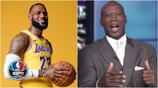 Byron Scott gets roasted for his preseason LeBron James excitement   NBA Countdown