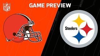Browns vs. Steelers | NFL NOW | NFL Week 17 Previews