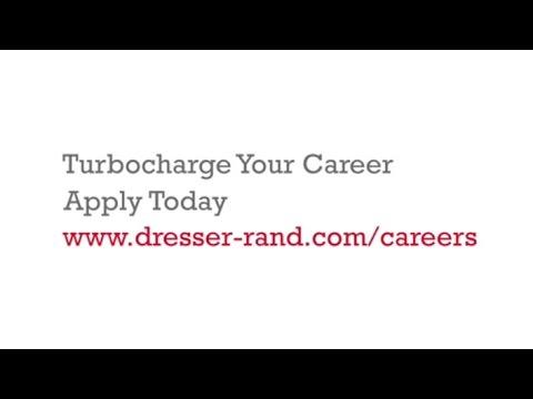 Turbocharge Your Career Dresser Rand Business