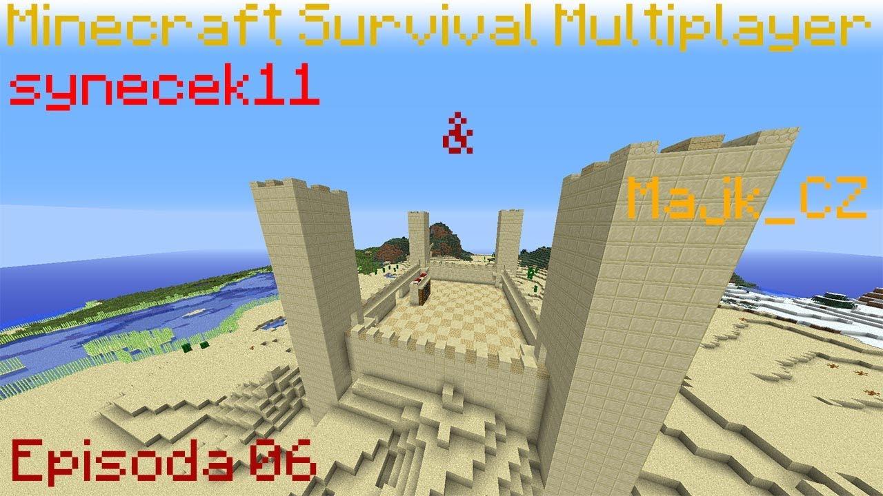 Jirka Hraje - Minecraft S01E53 - Stavba hradu - YouTube