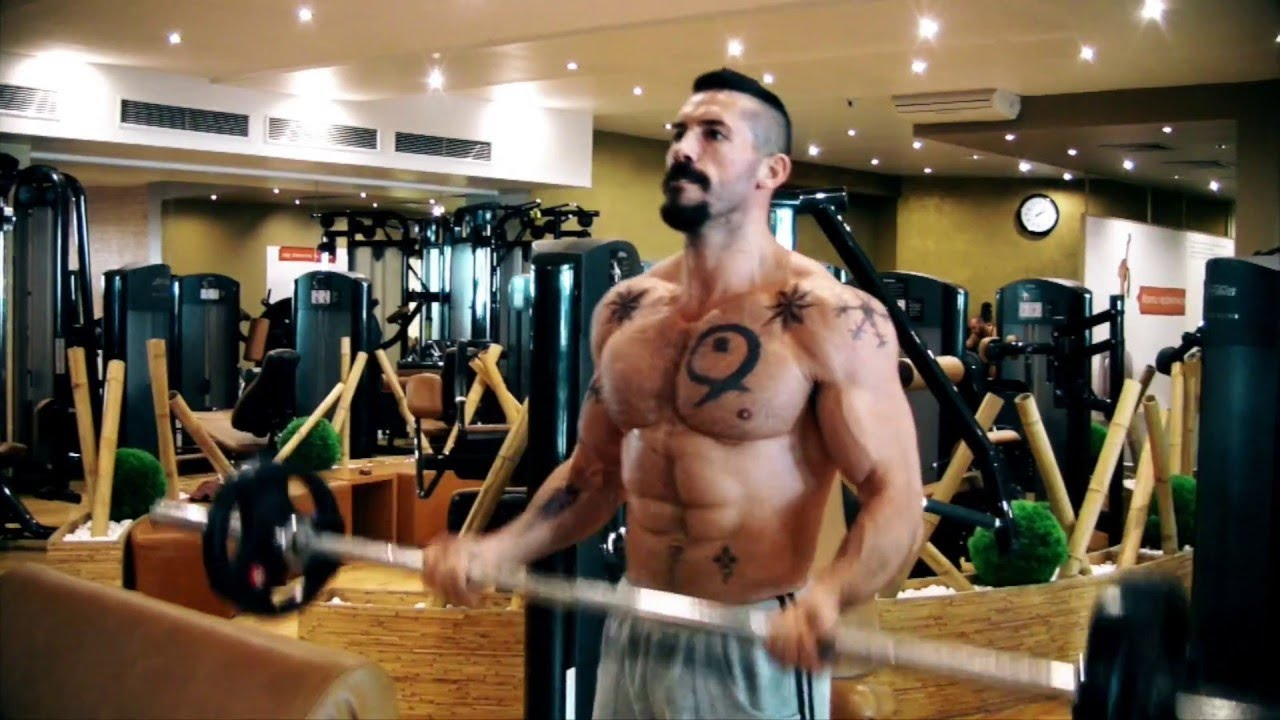 Yuri Boyka Undisputed Training in The Gym  Workout