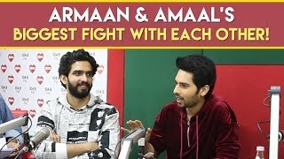 Armaan & Amaal's biggest fight with each other! #ChaleAana