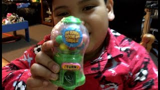 MINI GUMBALL MACHINE with GUMBALL - Unboxing and Review