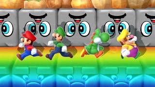Mario Party 10 MiniGames - Mario Vs Yoshi Vs Wario Vs Luigi (Master Cpu)