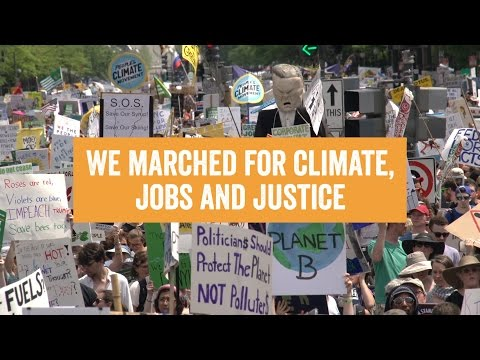 200k+ Strong at the Peoples Climate March 2017