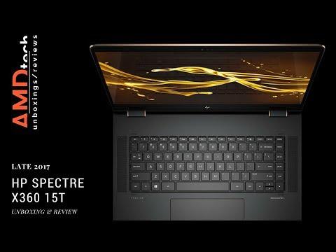 All New HP Spectre x360 15t (Late 2017) Review: 8th Gen Quad-Core CPU & MX150 GPU