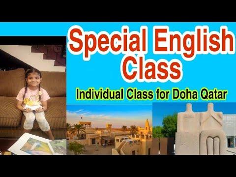 My Special English Class to Doha Qatar