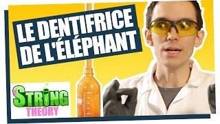 ExperimentBoy fabrique du dentifrice pour éléphant - ChimFizz #01 - String Theory