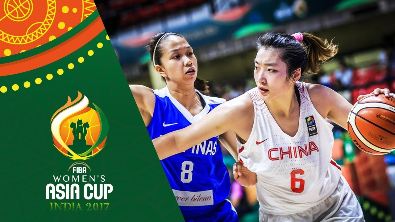 China v Philippines - Full Game - QF - FIBA Women's Asia Cup 2017