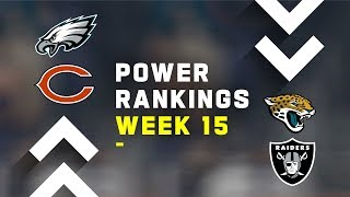Week 15 NFL Power Rankings!