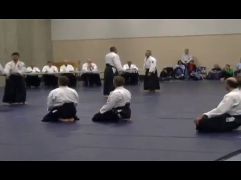 Aikido 4th dan grading in Calgary  Oct 2013