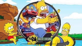 Los Simpson Hit and Run Todas las Cinematicas Español | La Pelicula Completa 1080p