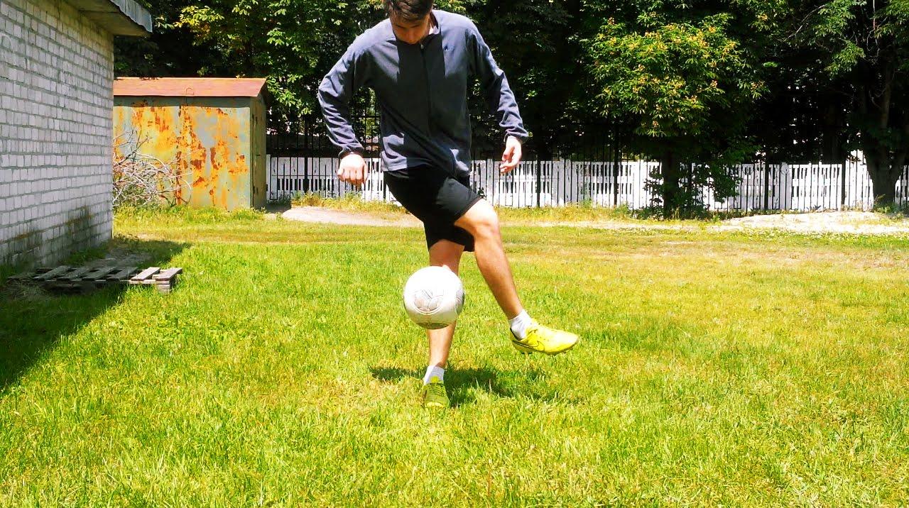 5 способов поднять мяч   Часть 1   5 ways how to raise the ball   Part 1