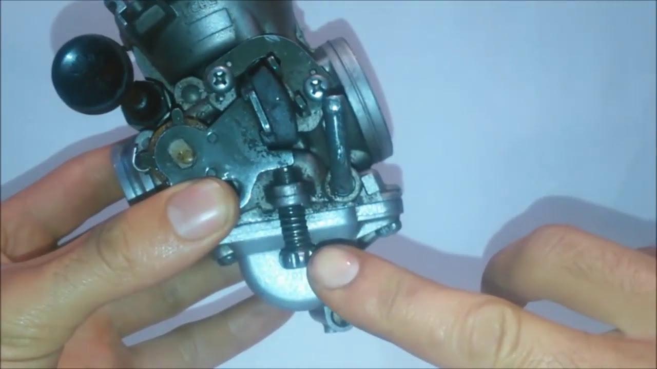 Tornillo de aire carburador moto 125