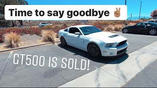 SELLING MY SHELBY GT500!! Its time to say goodbye. What should I get next?