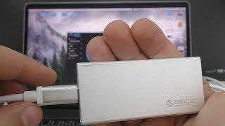 ОБЗОР и ТЕСТ ORICO MSA-UC3 / кейс карман переходник с mSATA SSD на Type-C USB 3.1 ► СКОРОСТЬ!