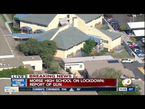 Morse High School on lockdown; report of gun