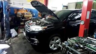 Toyota Highlander пропуск зажигания 5-й цилиндр. Причина.