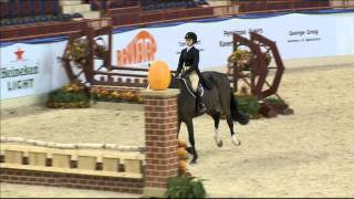 100 CHINOU   Morgan Rutter   Childrens Hunter 15 17 Round 2