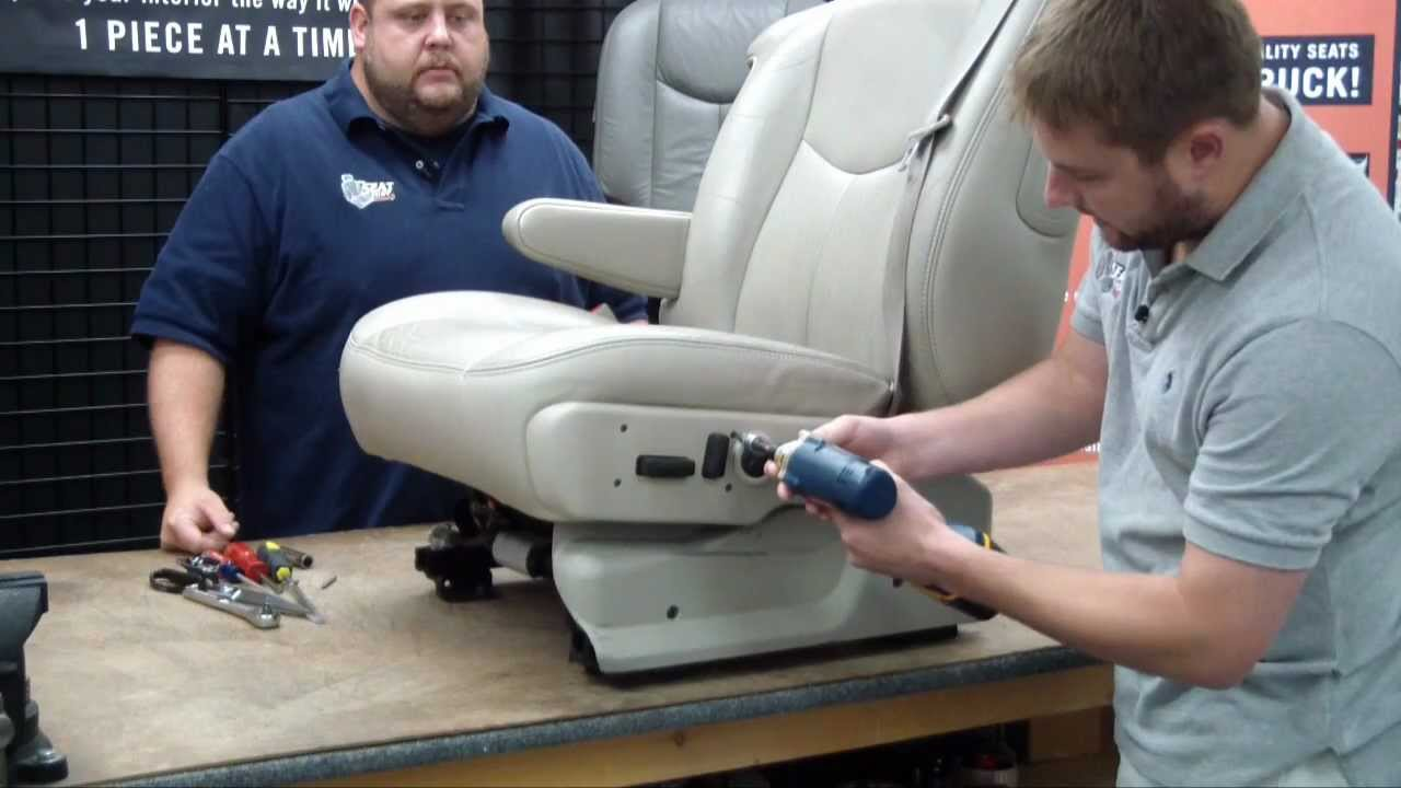 2003 2006 Chevy GMC Seat Cover Install 1 Of 3