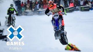 Cody Matechuk wins Snow BikeCross gold | X Games Aspen 2018