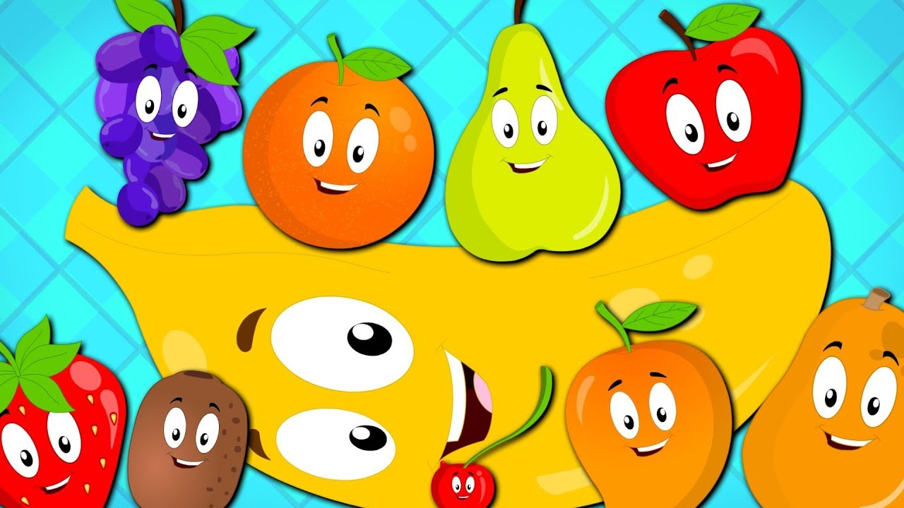 Ten Little Fruits Song Nursery Rhymes For Kids Baby Songs