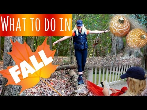 What To Do In Fall!  Sasha Parker