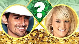 Video WHO'S RICHER? - Brad Paisley or Carrie Underwood? - Net Worth Revealed! (2017) download MP3, 3GP, MP4, WEBM, AVI, FLV Mei 2018