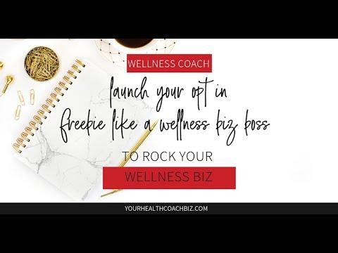 Wellness and Health Coach - Launch Your Opt in Freebie the Right Way, Rachel Feldman , IIN GRAD thumbnail