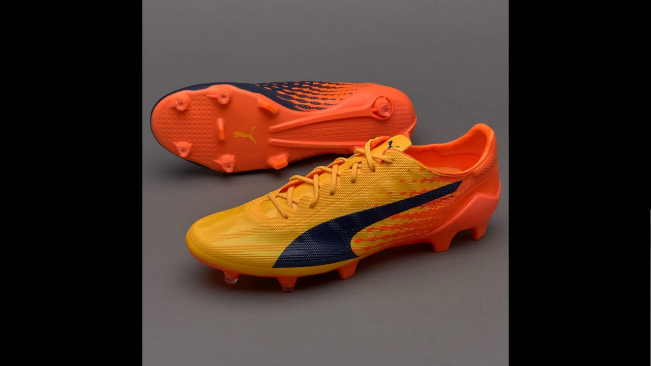 bdd8befae puma evoSPEED 17 sl fg - YouTube