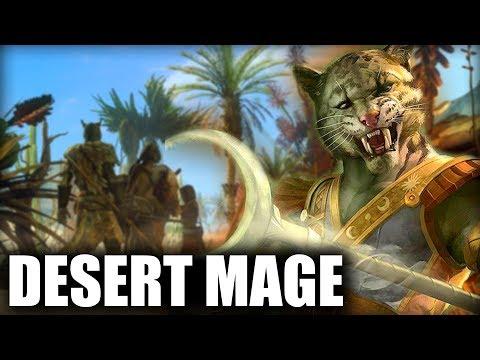 Skyrim SE Builds - The Desert Mage - Anequina Khajiit Build