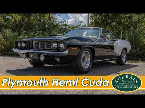 Plymouth Hemi Cuda: A Killer Fish In Formal Wear