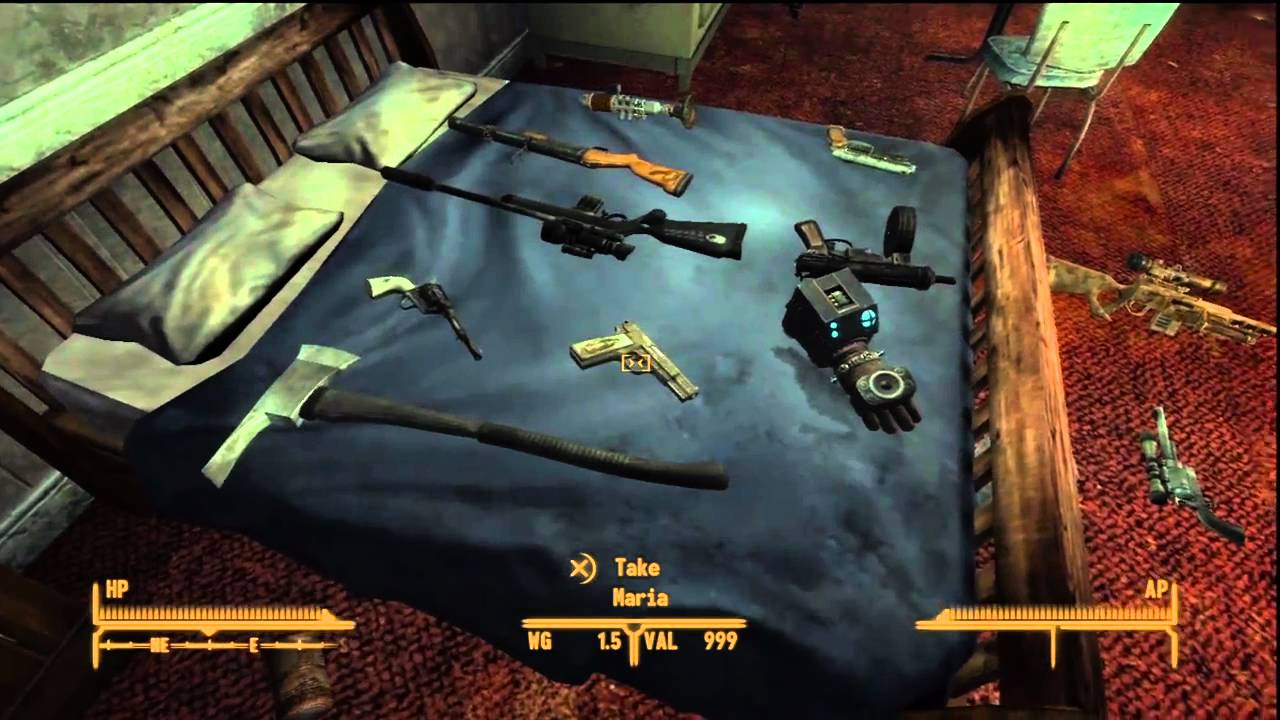 The best weapons in fallout new vegas