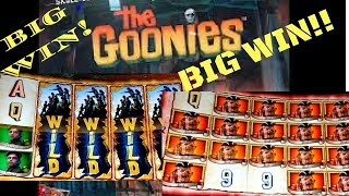 **THE GOONIES** FREE SPINS *BIG WIN* OVER 100X w/ SlowPokeSlots