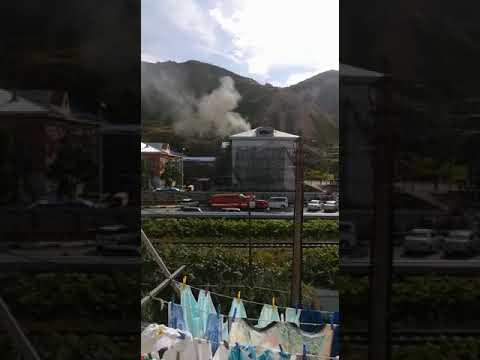 Школа и избирательный участок загорелись в Невельске