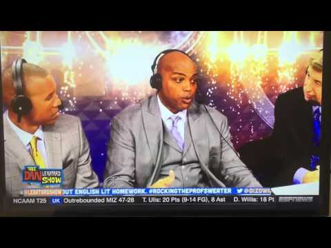 """Charles Barkley: """"ESPN is famous for """"race-baiting"""""""
