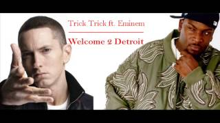 Trick Trick ft. Eminem - Welcome 2 Detroit (clean bass boost)